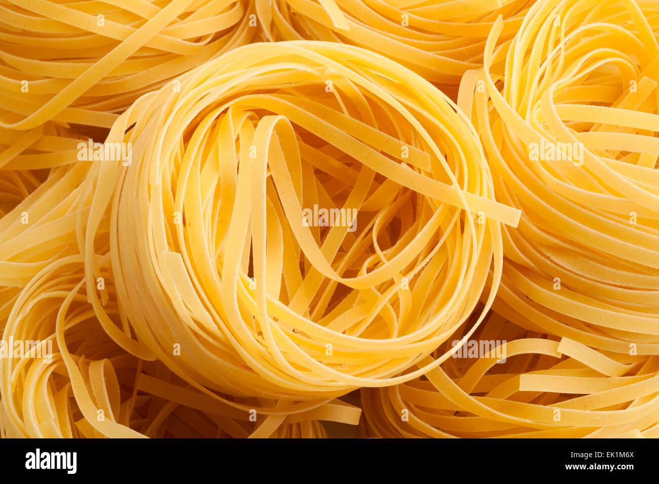 closeup de pasta Imagen De Stock