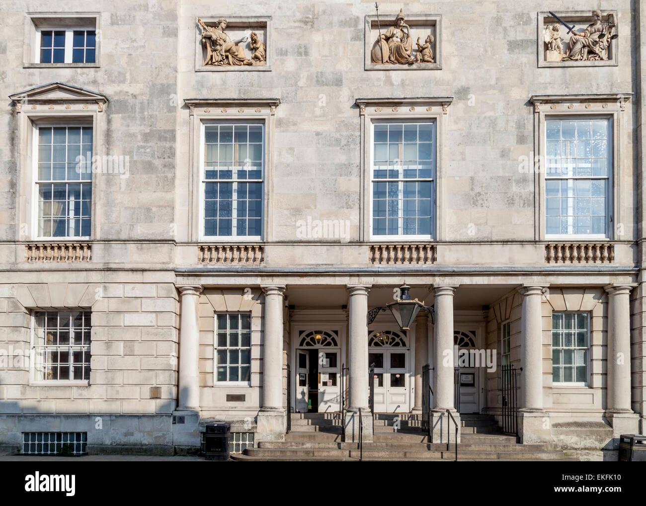 El Tribunal de la corona, Lewes, East Sussex, Reino Unido Foto de stock