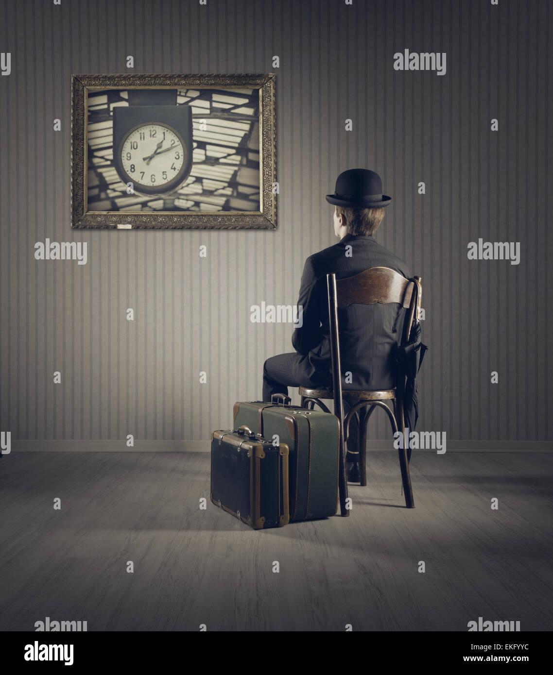Viajes de negocios Imagen De Stock