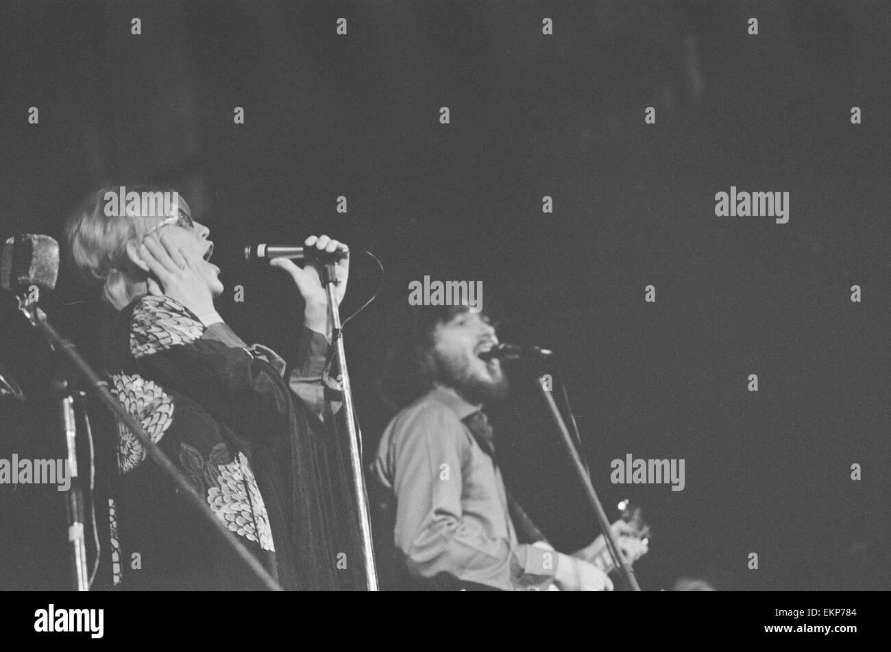 Delaney & Bonnie & Friends music concierto en el Ayuntamiento de Birmingham hasta el 4 de diciembre de 1969. Nota: Foto de stock