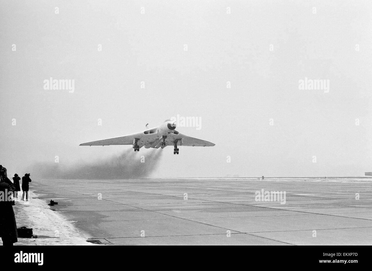 Un bombardero V despegando. 1963 Imagen De Stock