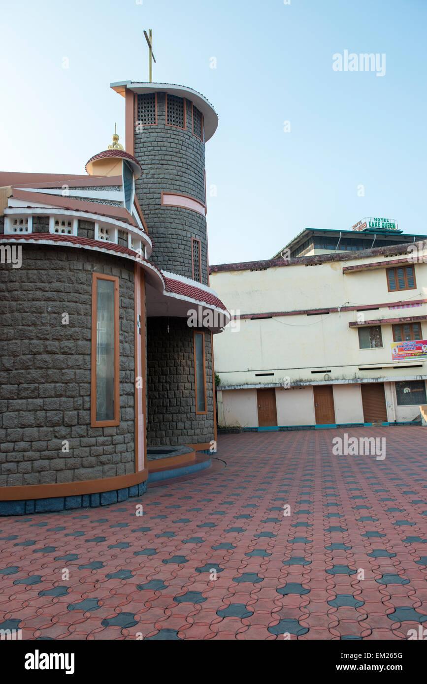 Templo en Kumily, Kerala, India Imagen De Stock