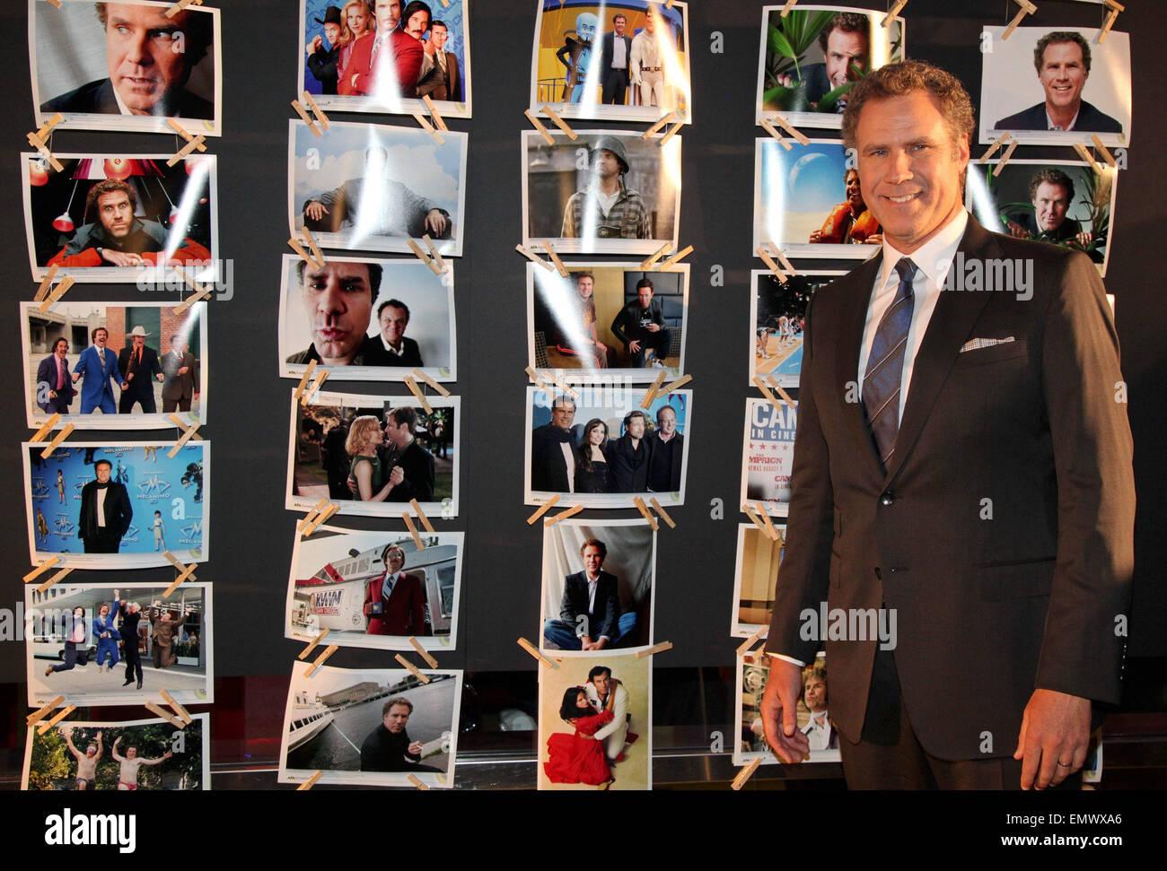 06.Noviembre.2013. Viena Will Ferrell asiste al 'ANDCHORMAN' Estreno DURANTE LA VIENNALE EN CINE GARTENBAU, Imagen De Stock
