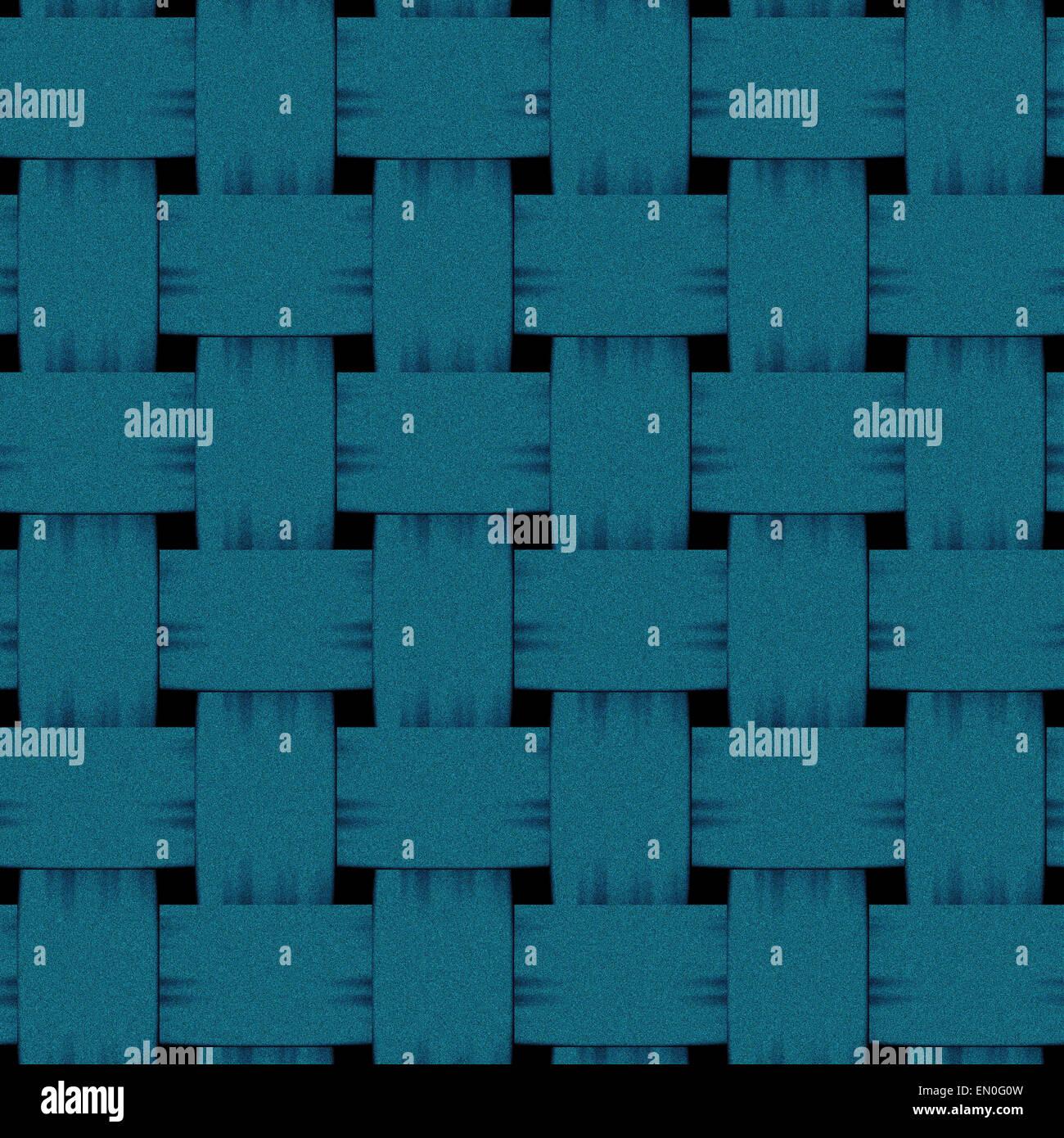 Cuadrado azul tejido entrelazado prestados denim Imagen De Stock