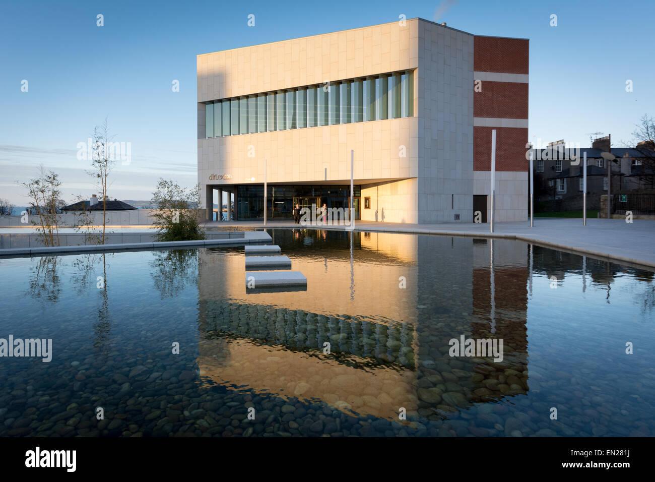 Dun Laoghaire Léxico Biblioteca y Centro Cultural en Dublín Irlanda Foto de stock