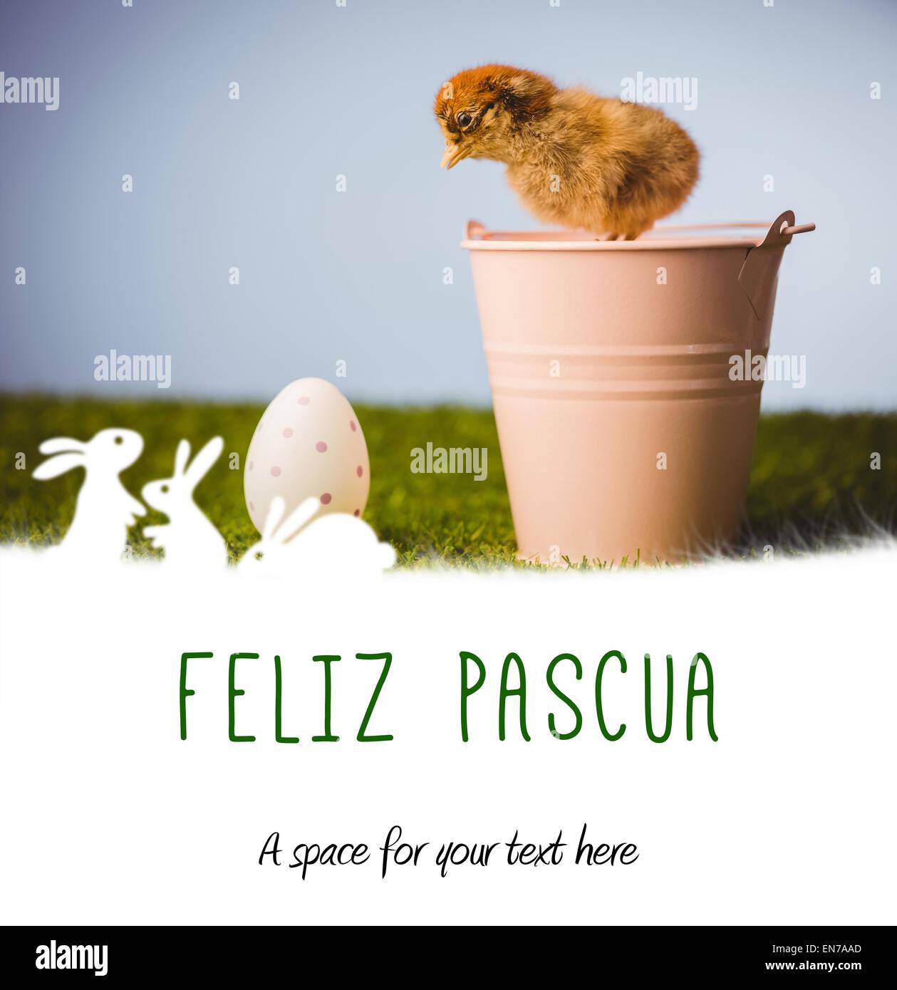 Imagen compuesta de feliz pasqua Imagen De Stock