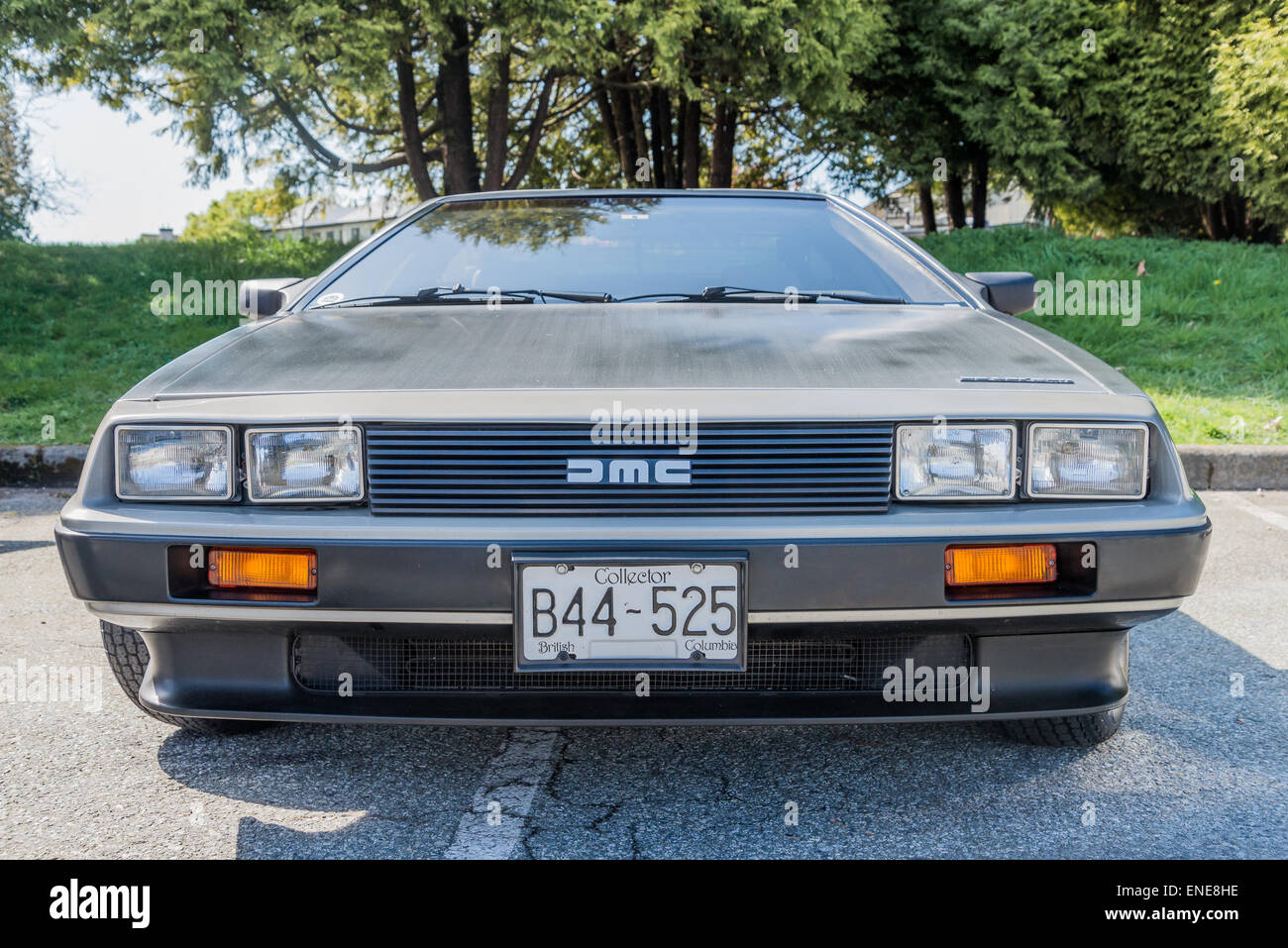 Automóvil DeLorean Imagen De Stock