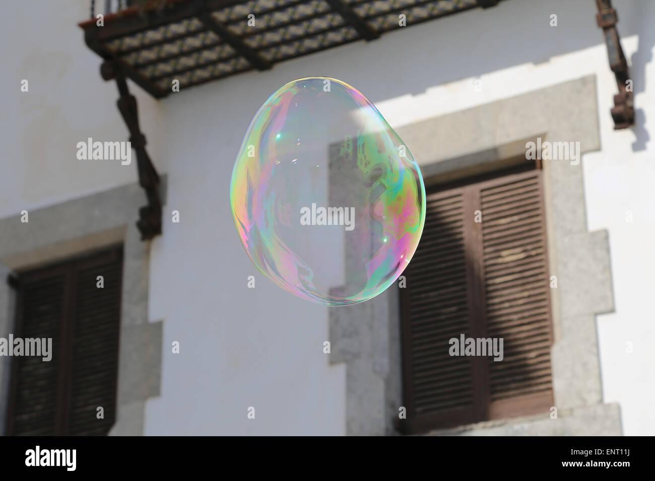 Burbuja de jabón. Imagen De Stock