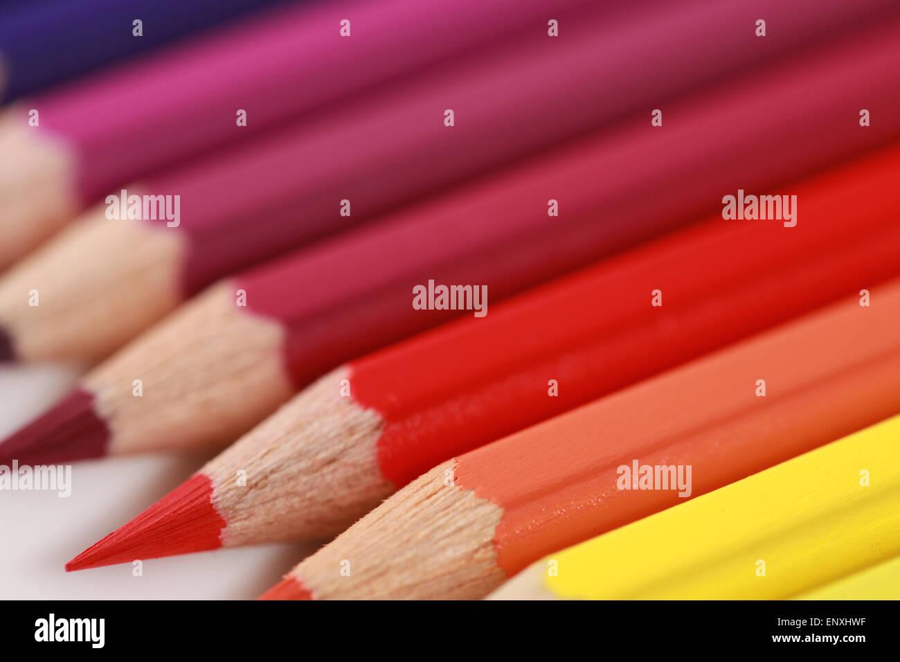 Buntstifte Foto de stock