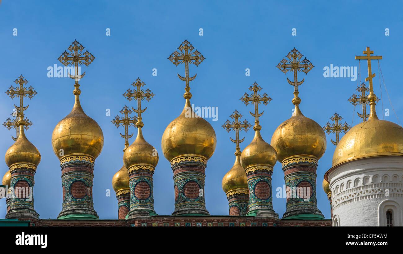 La iglesia de la deposición del manto, Moscú Kremlin, Rusiia Imagen De Stock