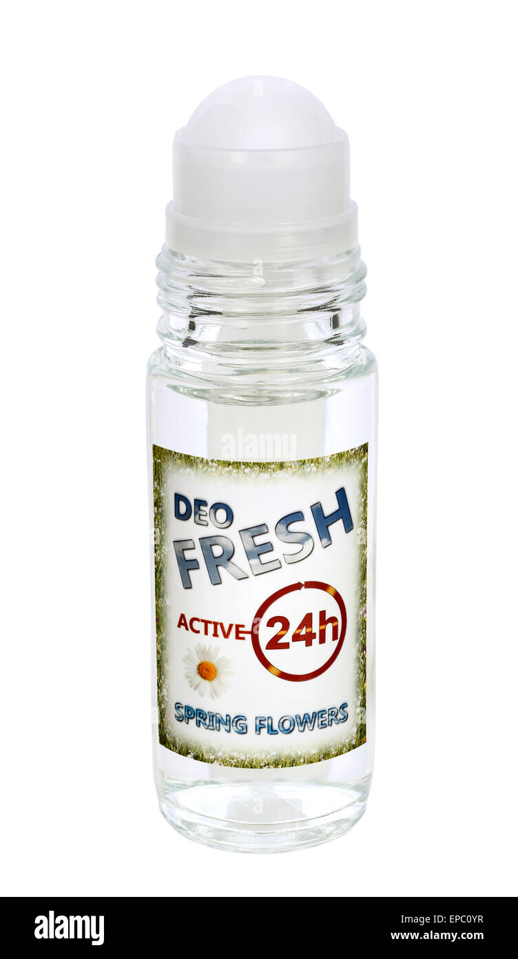 Roll-on ficticio Antiperspirant Deodorant Imagen De Stock