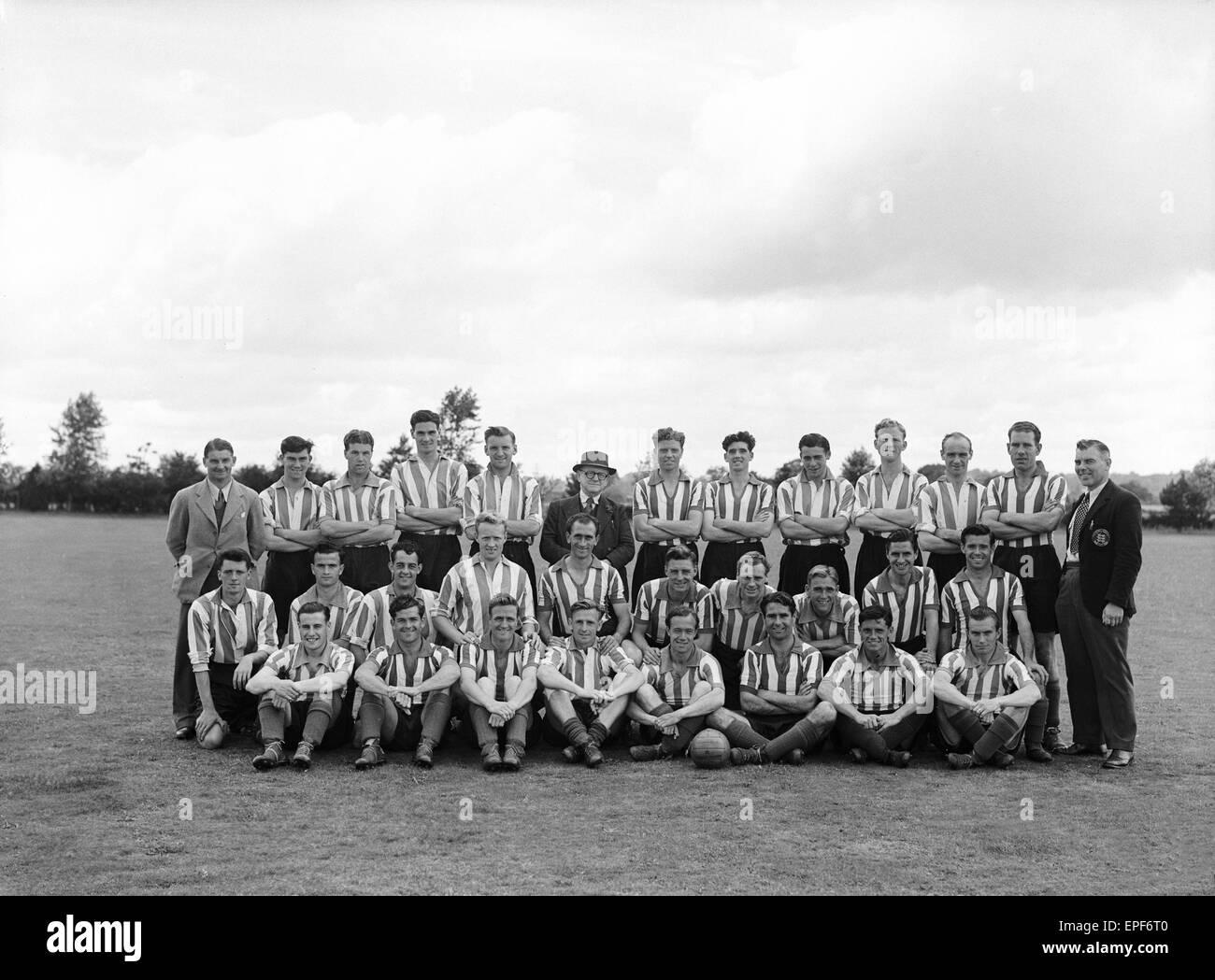 Southampton FC 1950. Foto de stock