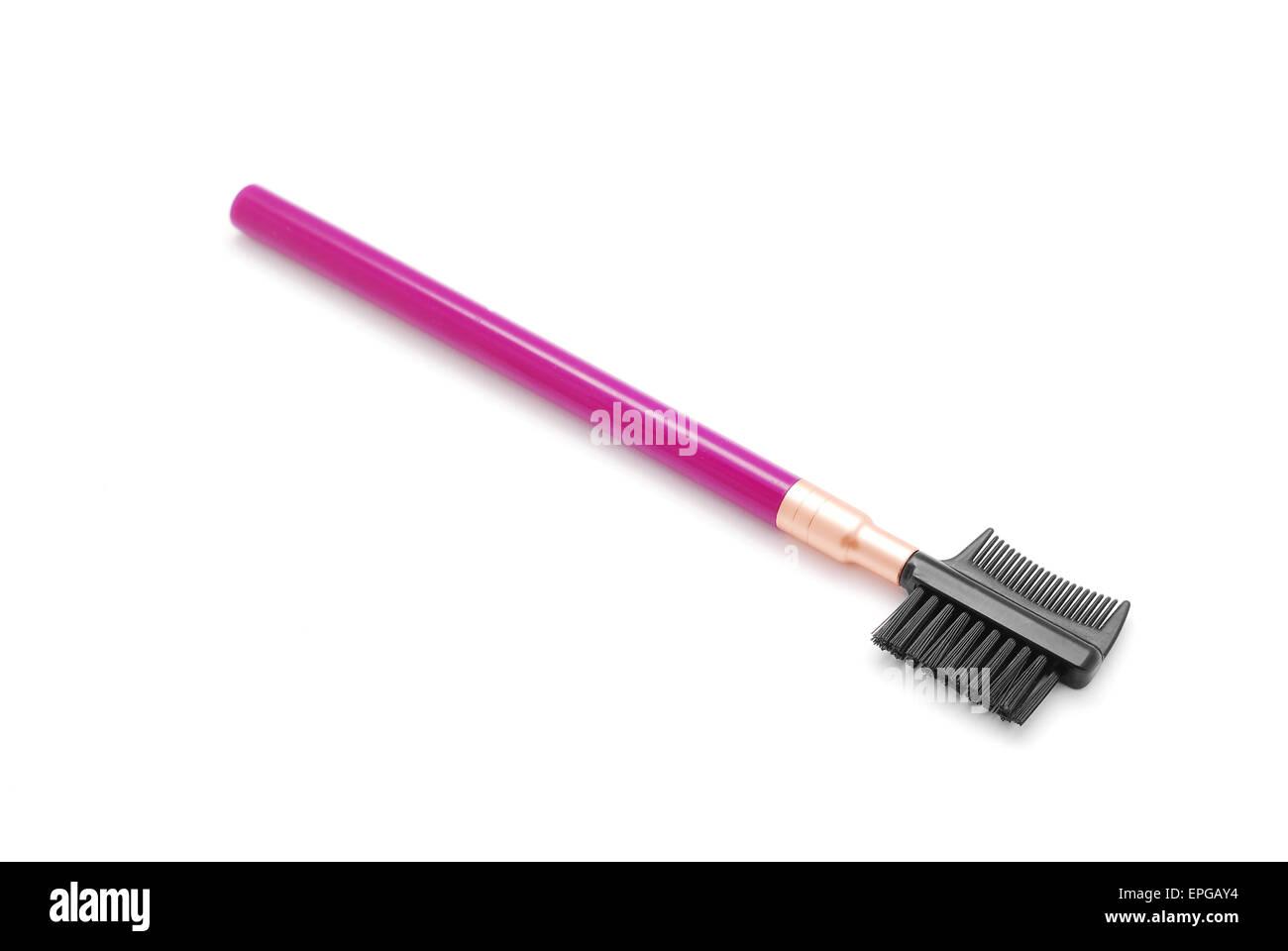 Cepillos cosméticos mascara Imagen De Stock