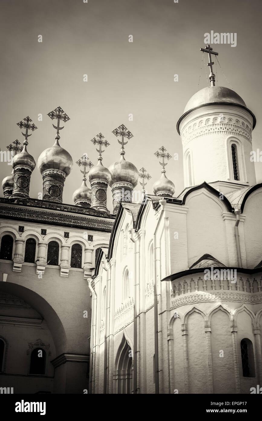 La iglesia de la deposición del manto, Moscú Kremlin, Rusiia Foto de stock