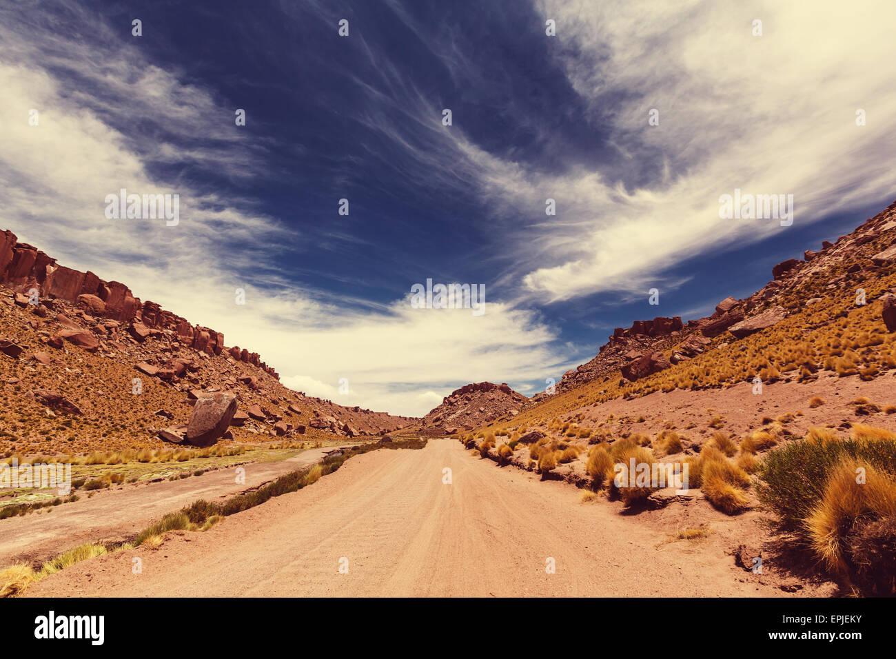 Norte de Argentina Foto de stock