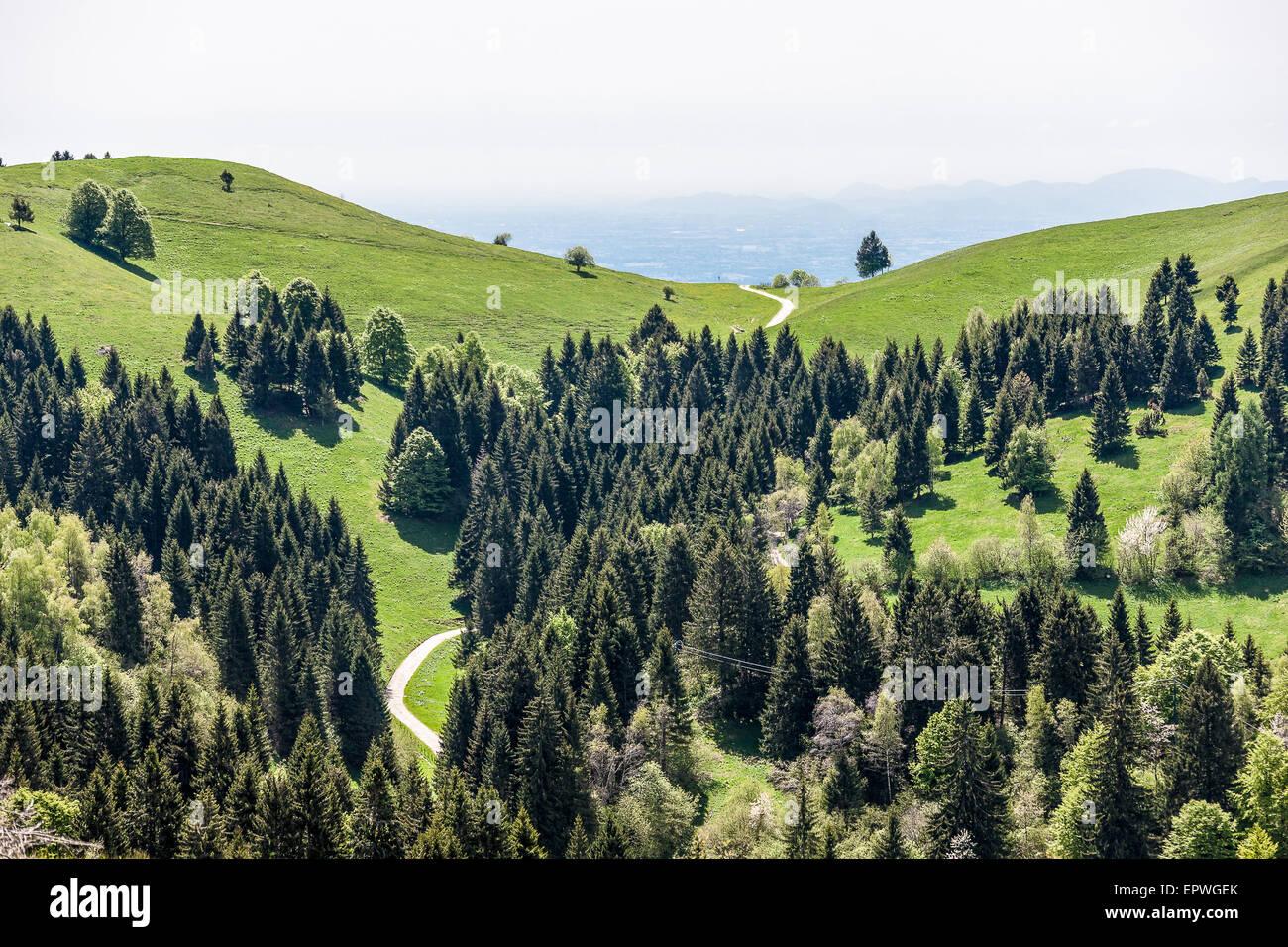 Monte Grappa / Monte Grappa. Foto de stock