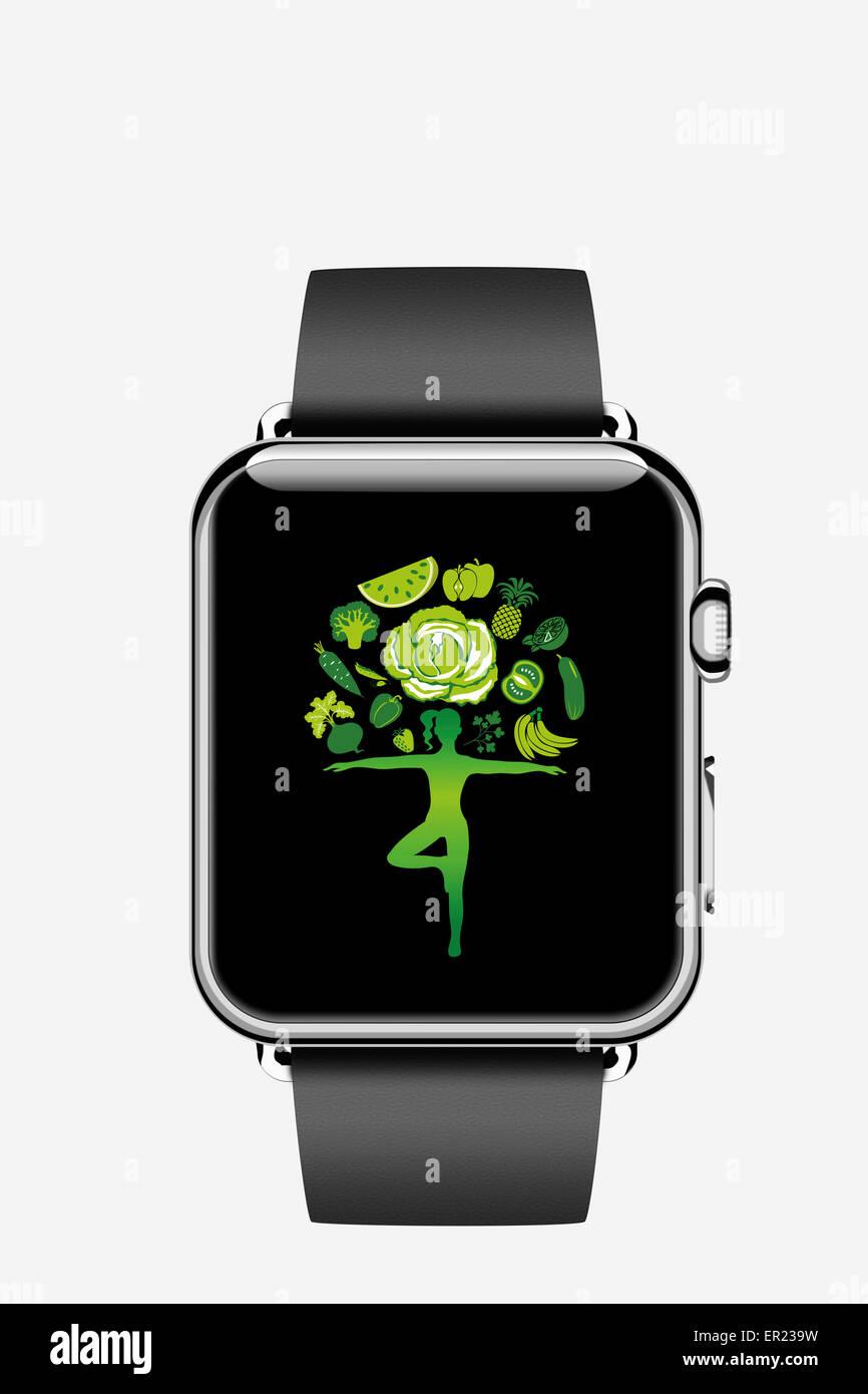 Apple watch smartwatch reloj inteligente iwatch Imagen De Stock