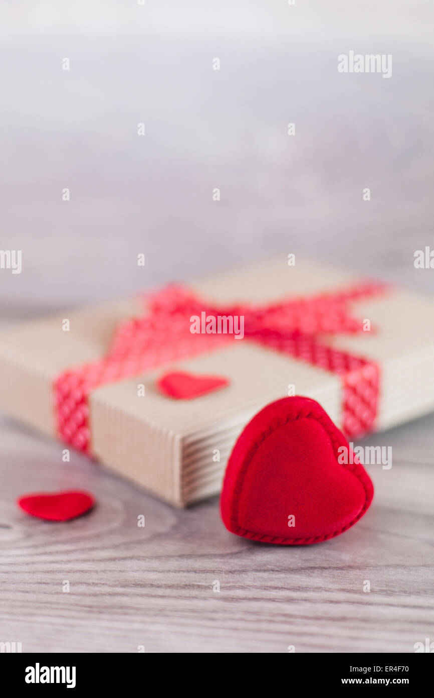 Día de San Valentín presente Imagen De Stock