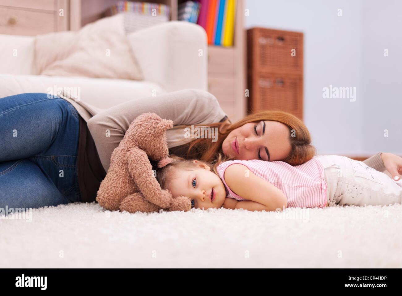 Tiempo de siesta durante el día. Debica, Polonia Imagen De Stock