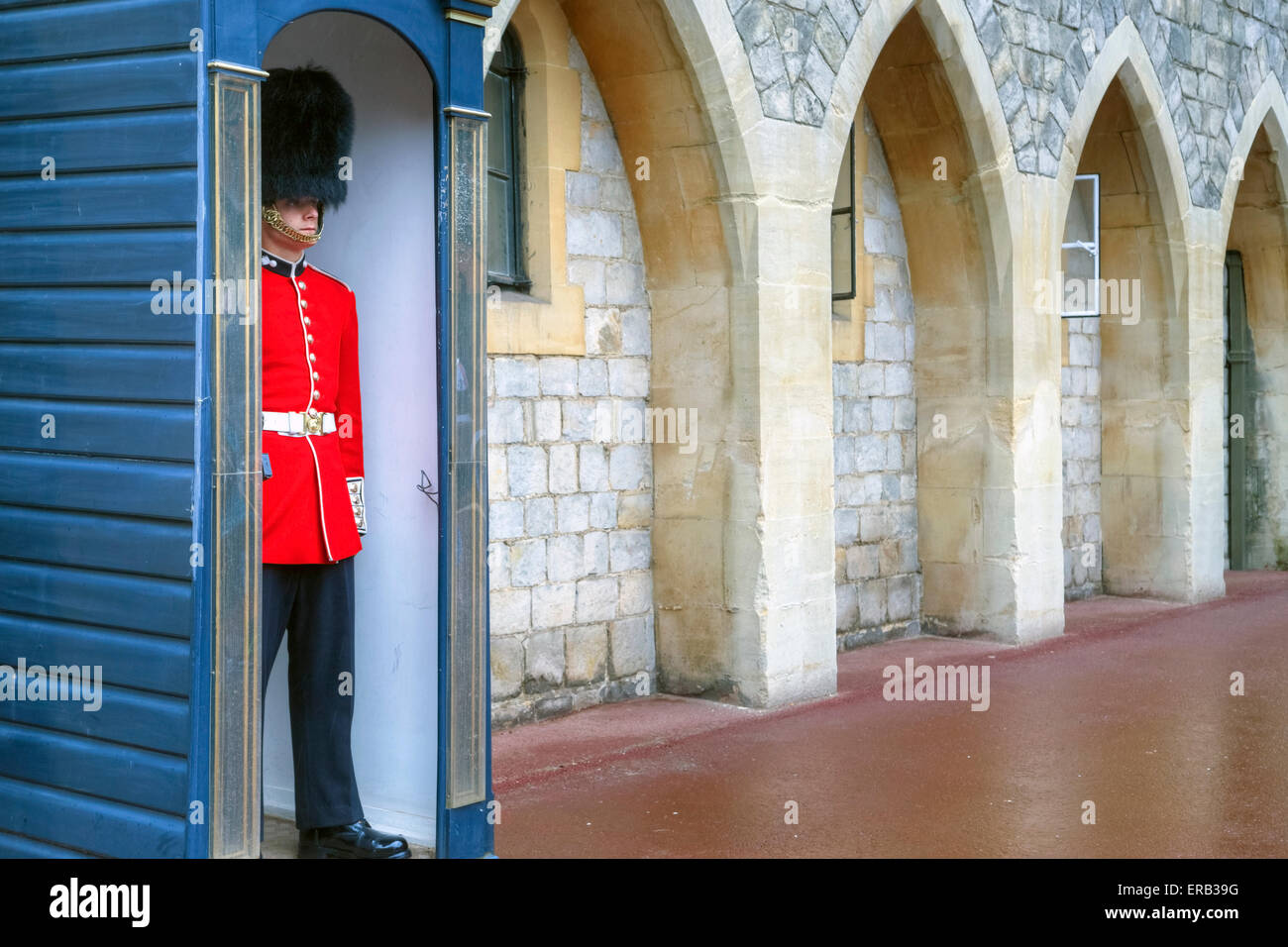 El Castillo de Windsor, Windsor, Berkshire, Inglaterra, Reino Unido. Imagen De Stock