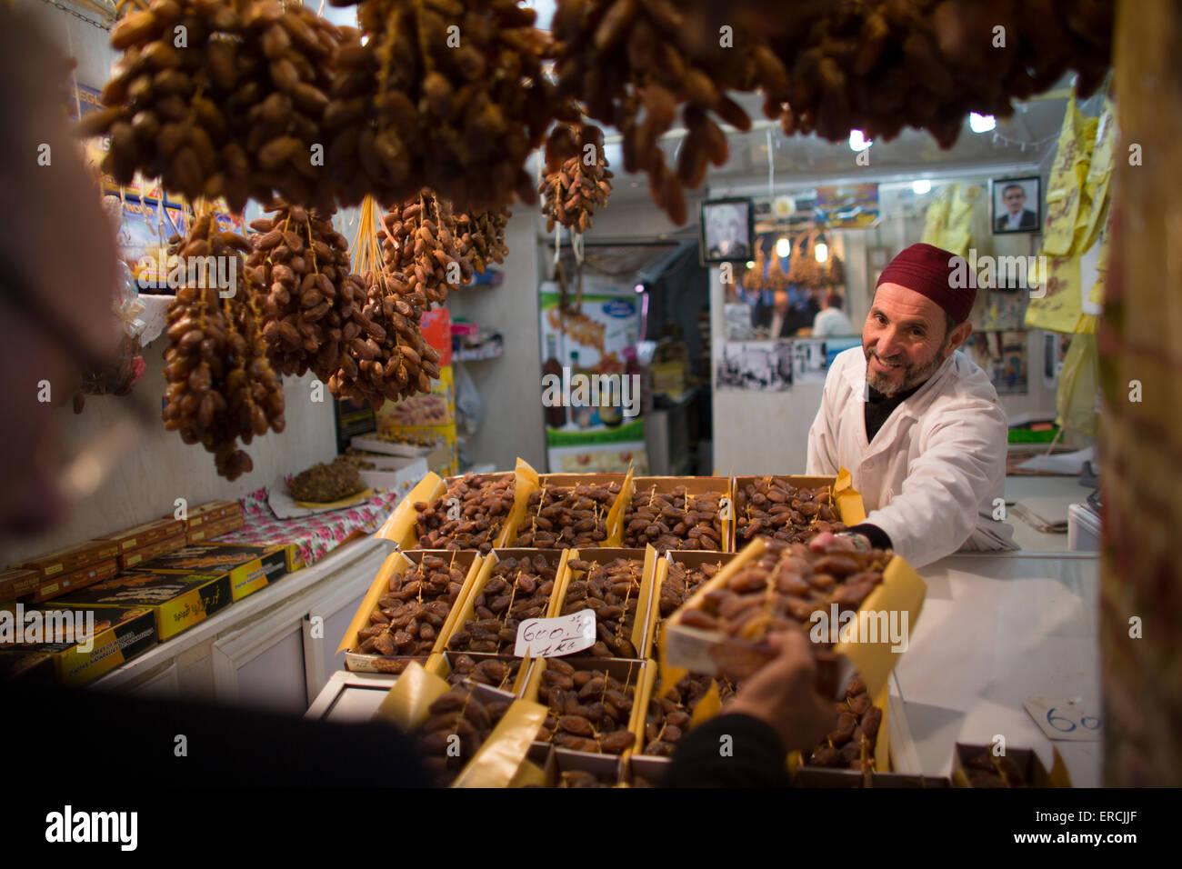 Mercado en Argel, Argelia Imagen De Stock