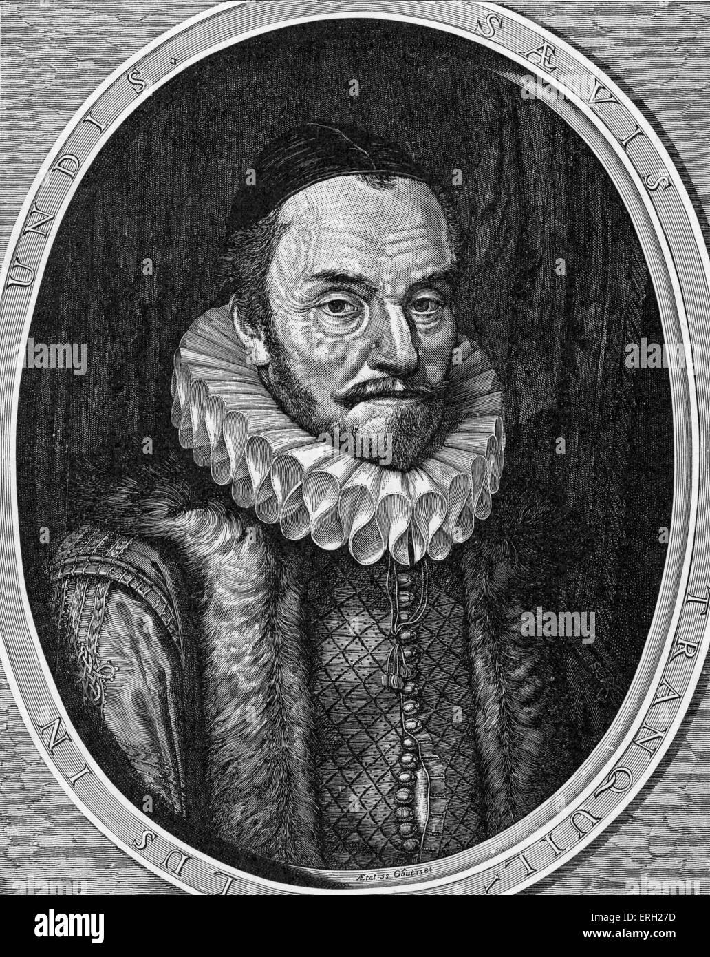 Guillermo I, príncipe de Orange, 24 de abril de 1533- 10 de julio de 1584, también conocido como Guillermo Imagen De Stock