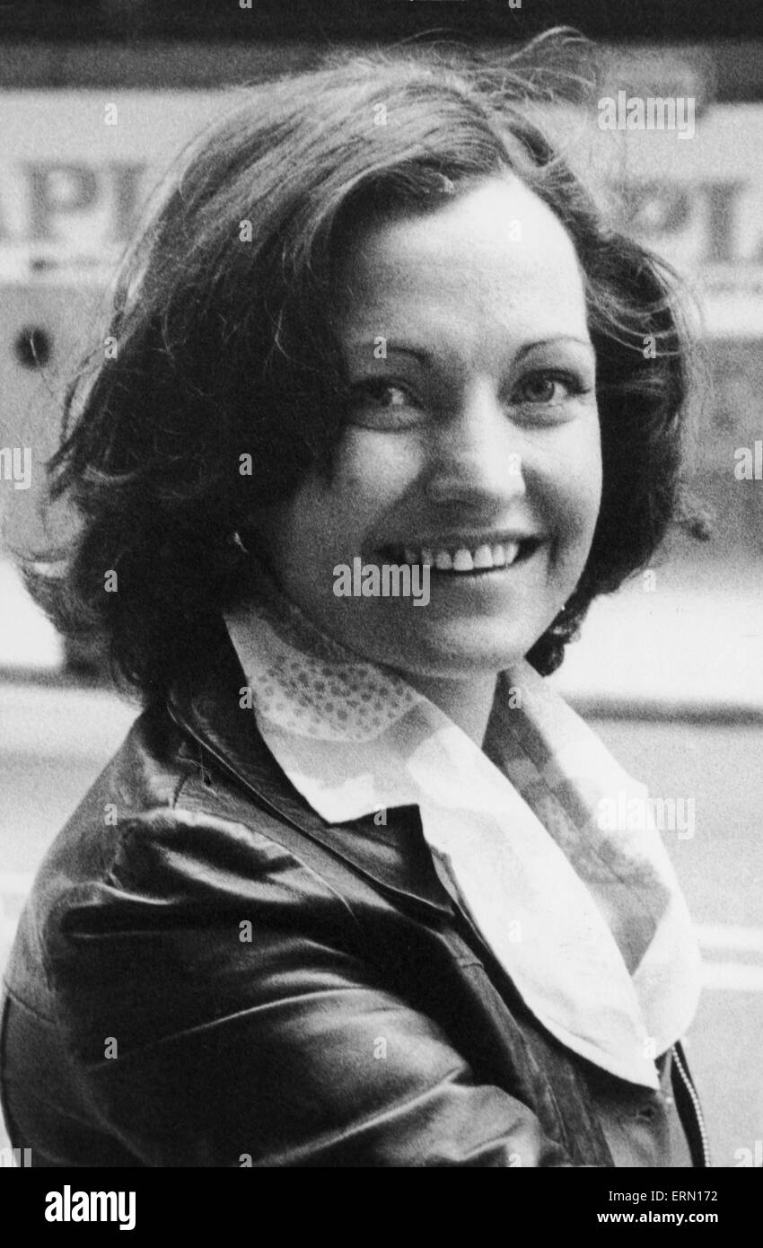 Mairead Corrigan organizador del movimiento de paz de Irlanda del Norte de septiembre de 1976 Imagen De Stock