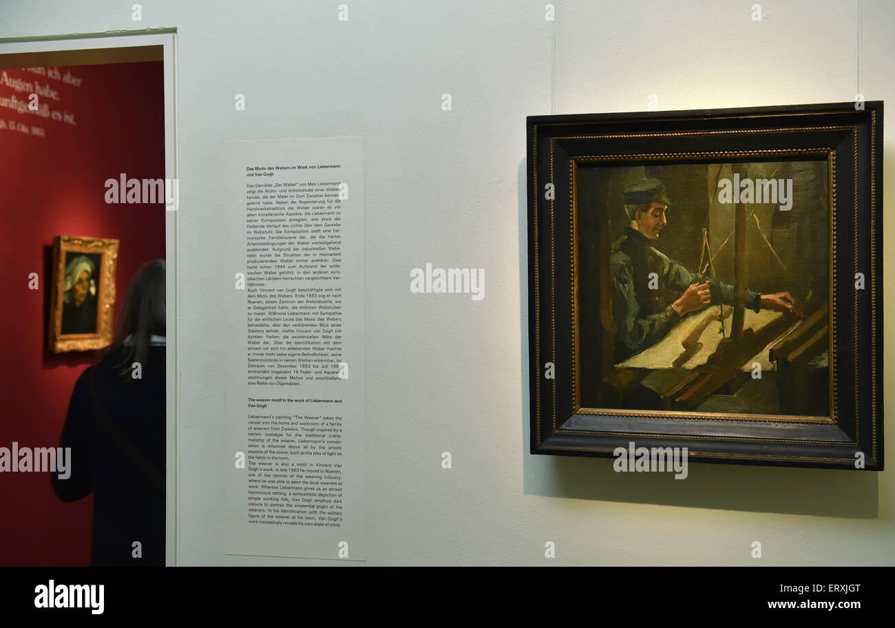 Tejedor En Telar Por Vincent Van Gogh Fotos E Imágenes De Stock Alamy