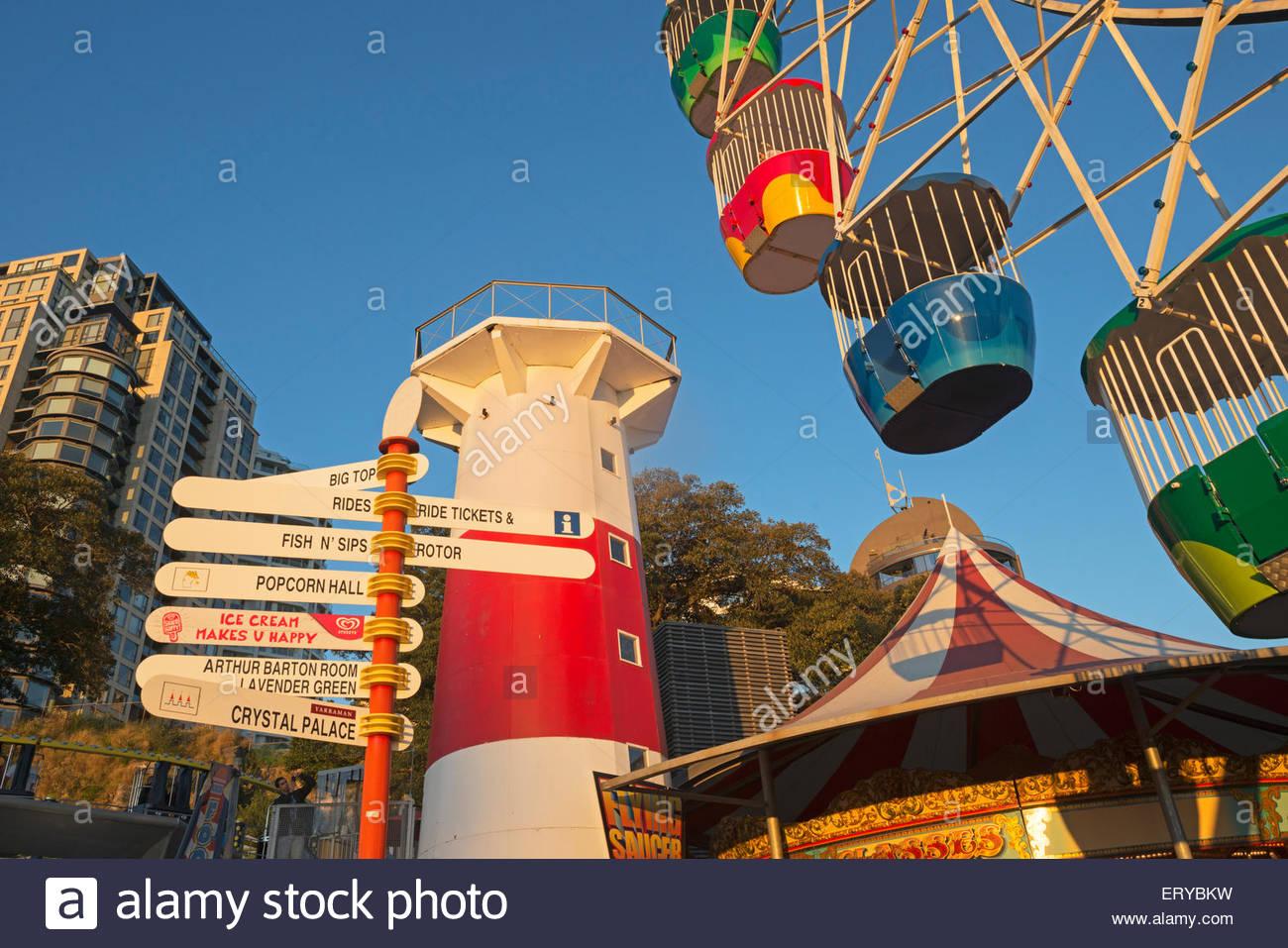 Luna Park, Sydney, New South Wales, Australia Imagen De Stock