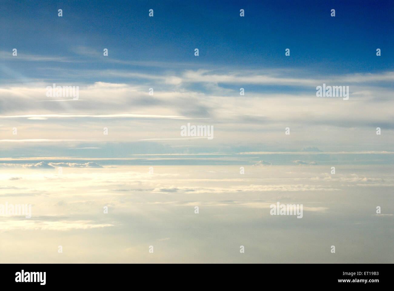 Blue Sky white cloud Imagen De Stock