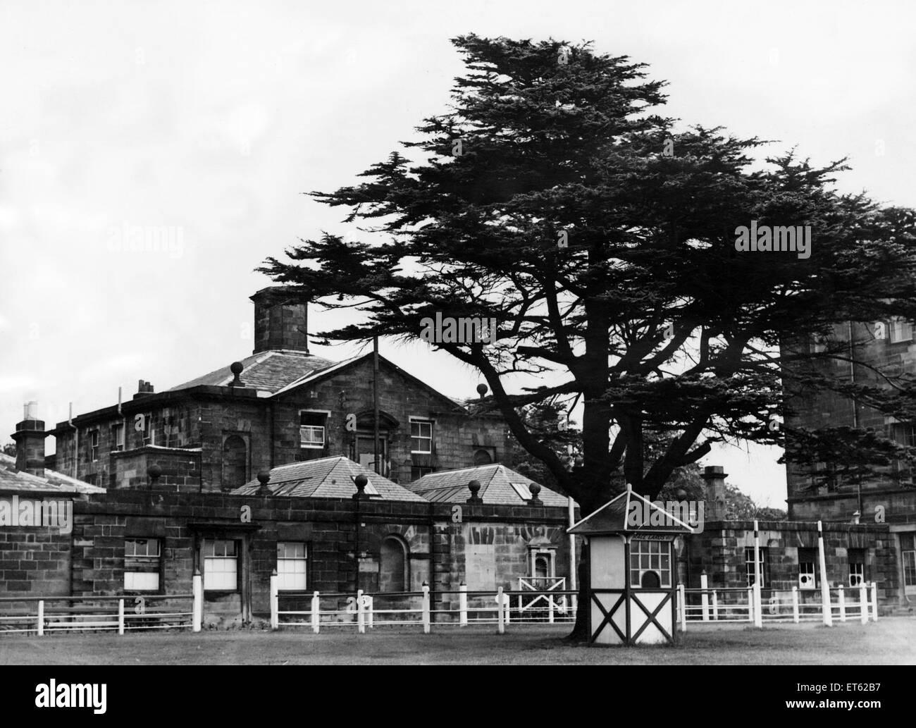Gosforth Park Racecourse. 20 de junio de 1947. Imagen De Stock