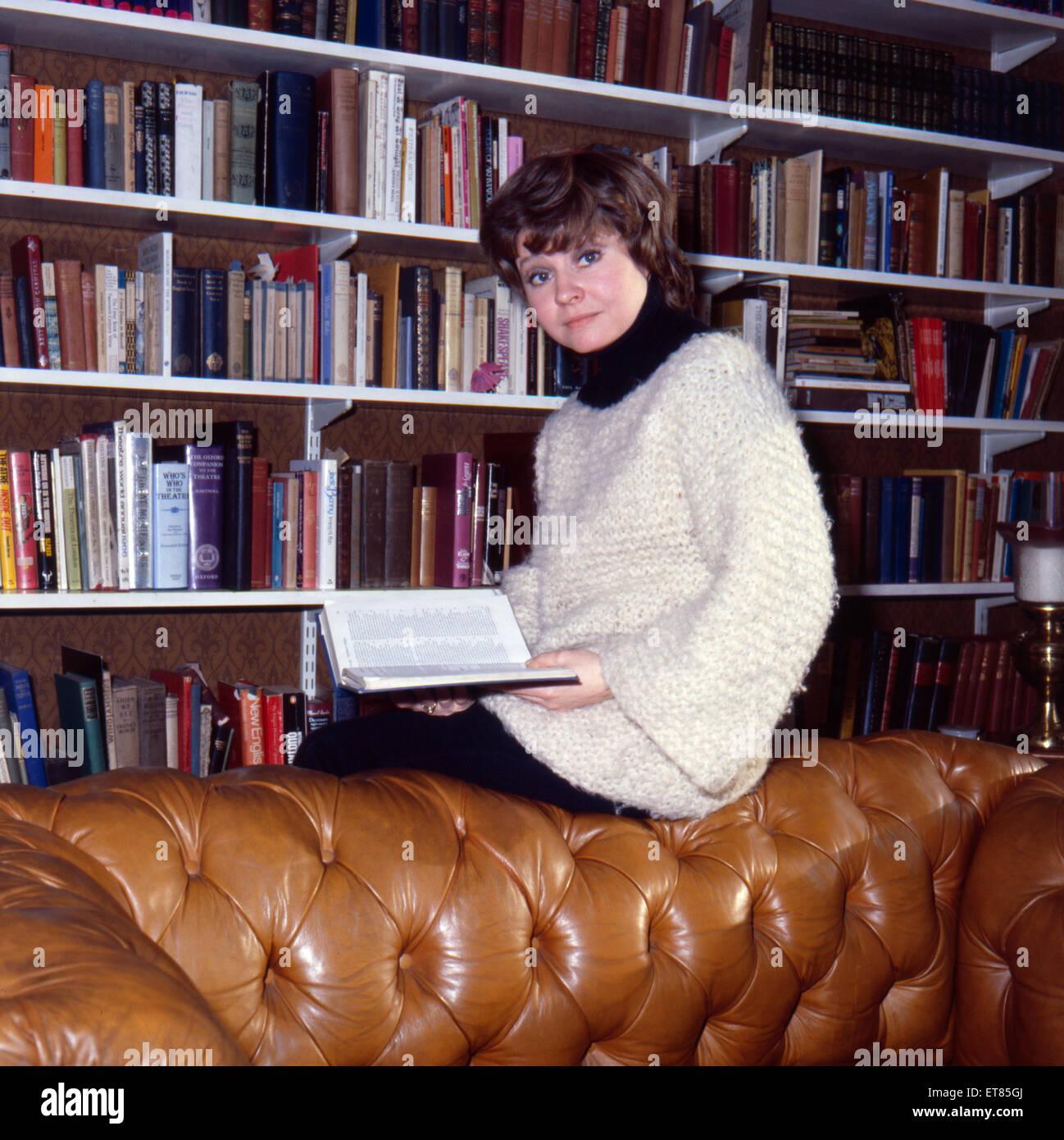 Prunella Scales, actriz, enero de 1980. Imagen De Stock