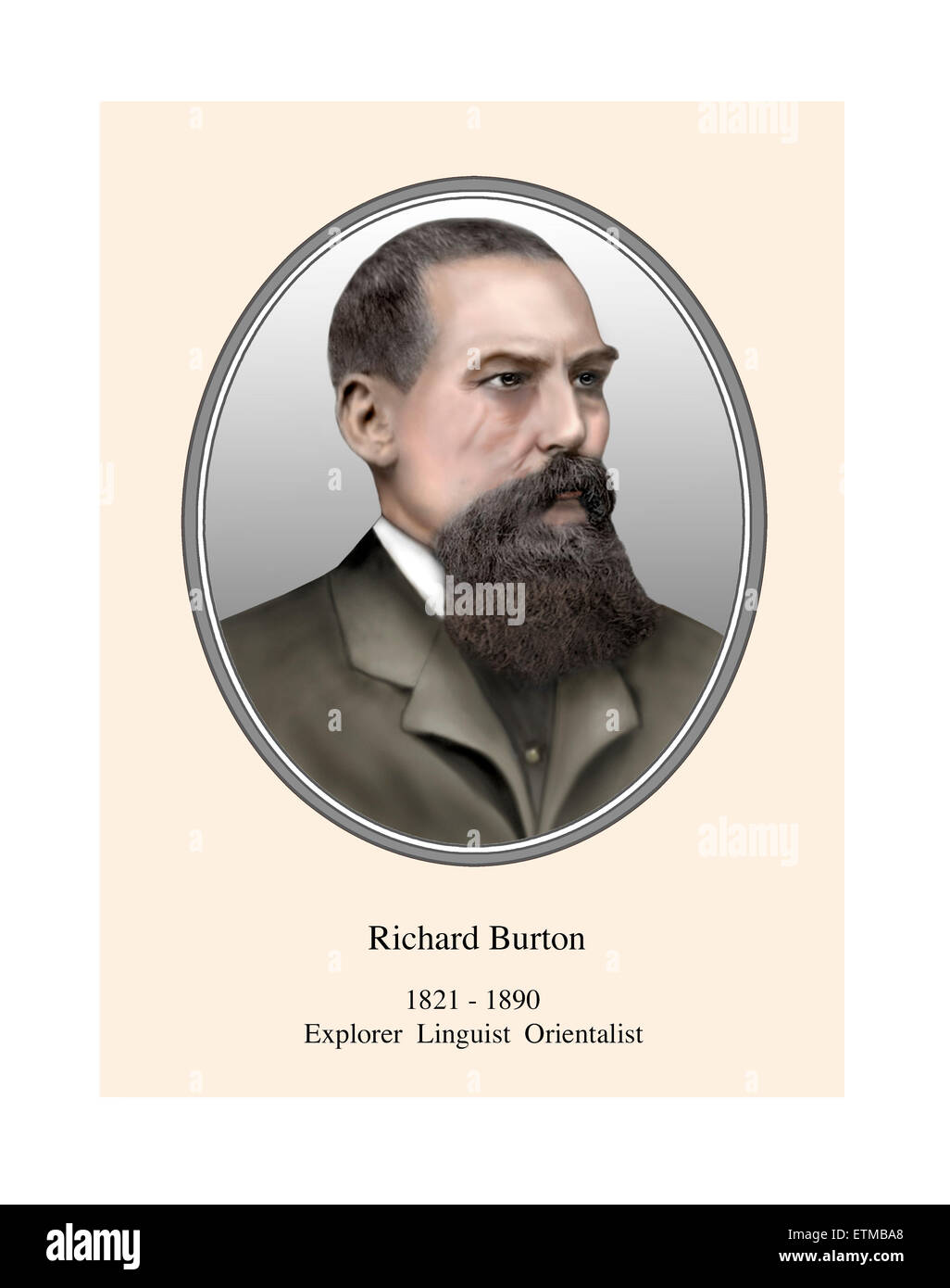 Richard Burton Portrait Imágenes De Stock & Richard Burton Portrait ...