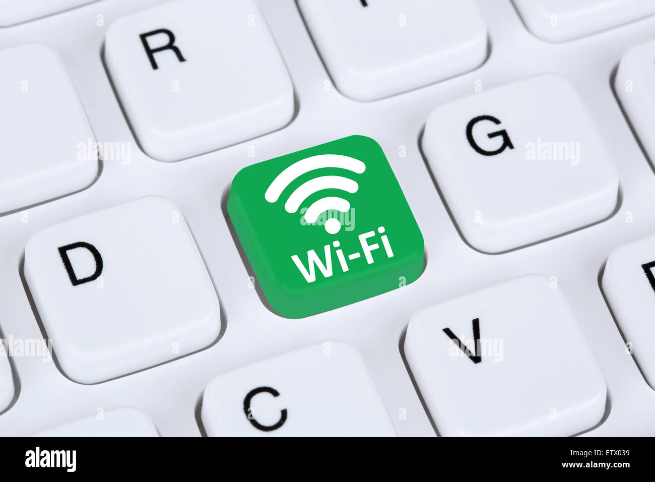 Wi-Fi Hotspot WiFi o conexión de equipo de red de internet Imagen De Stock