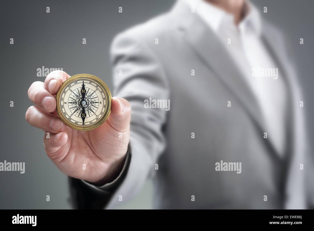 Dirección empresarial Foto de stock