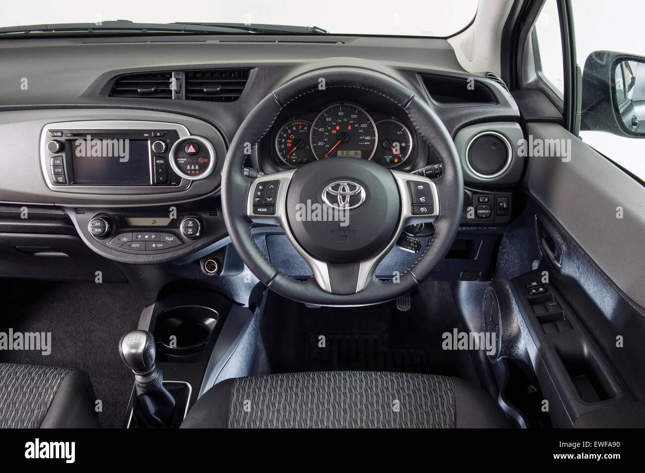 2014 Toyota Yaris Imagen De Stock