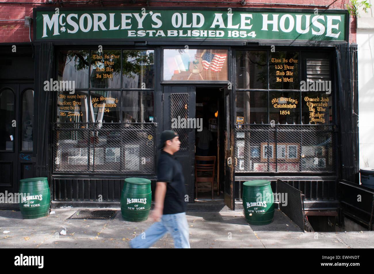 Cervecería Mcsorleys Old Ale Manguera En El East Village