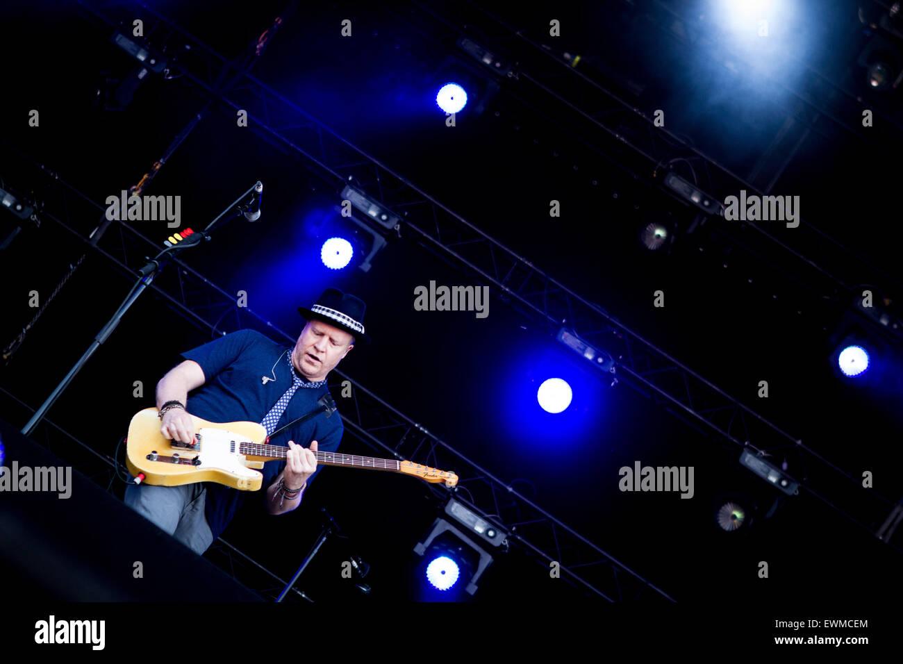 David Bryson de la banda estadounidense de rock alternativo