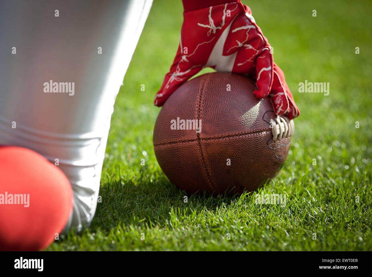 Juego de fútbol americano - DEPORTE CONCEPTO Imagen De Stock