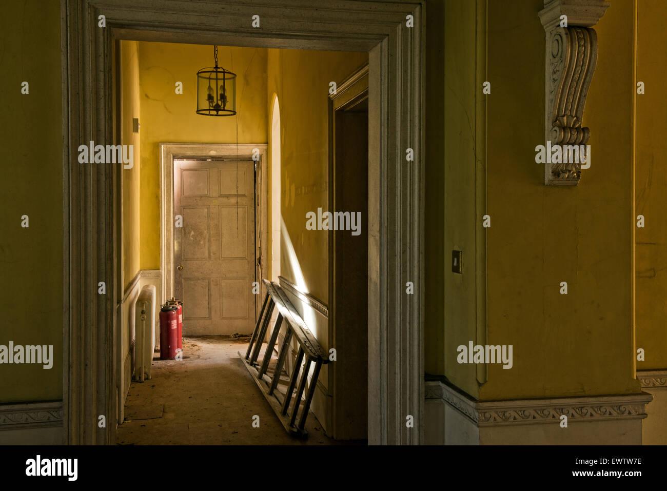 Dentro Silverlands Orfanato, Chertsey, Surrey, Reino Unido Imagen De Stock