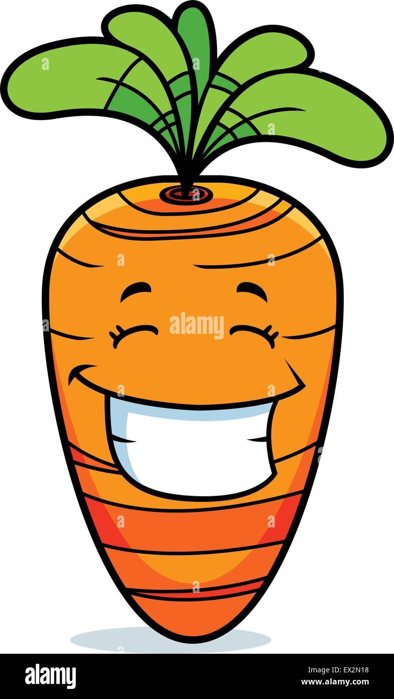 Una Caricatura Naranja Zanahoria Feliz Y Sonriente Imagen Vector De Stock Alamy Info:siembra, planatacion, germinacion, riego, sol y consejos básicos. https www alamy es foto una caricatura naranja zanahoria feliz y sonriente 84882932 html