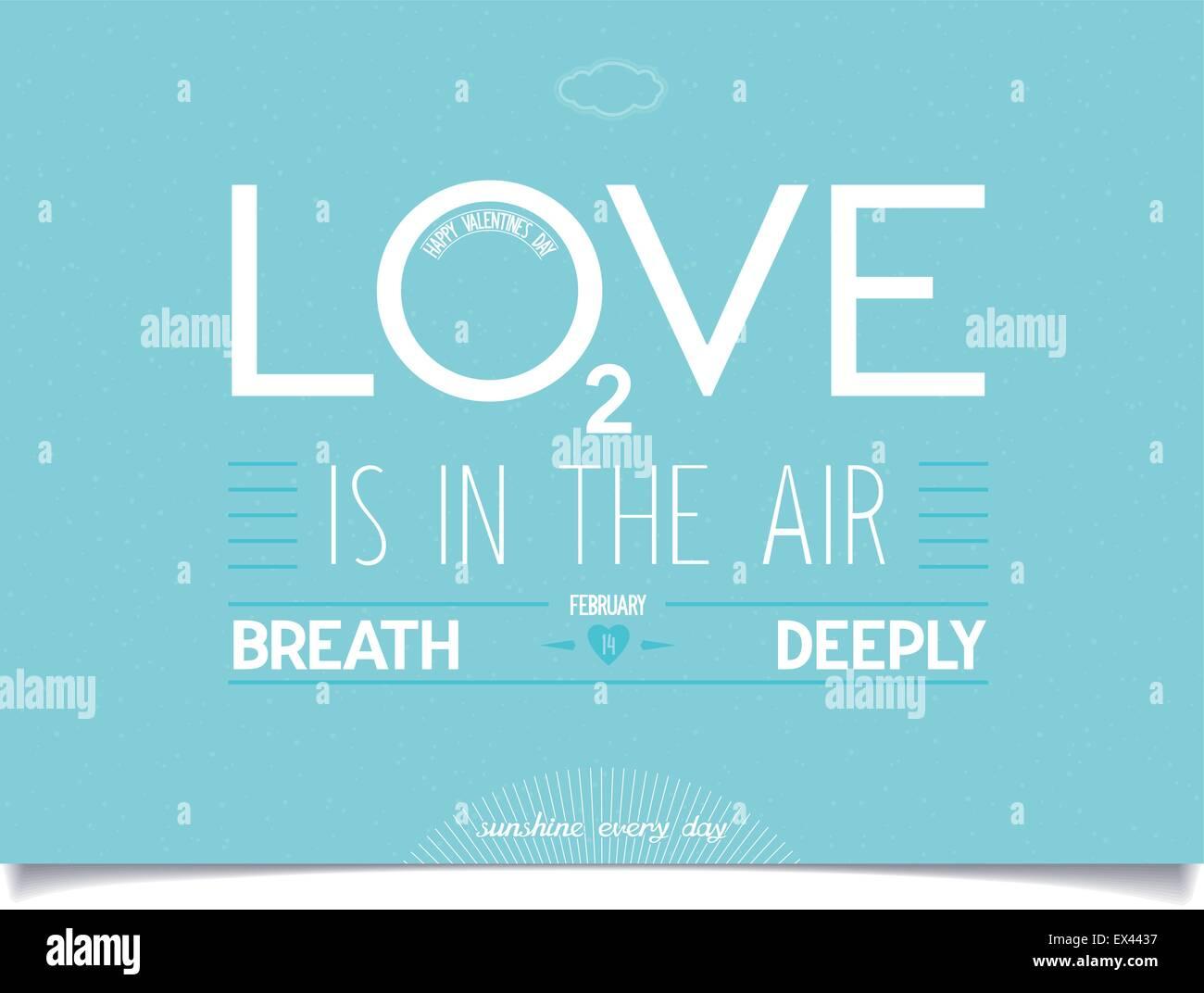 Diseño De Tarjetas De San Valentín De Amor Con Idea De Letras Sobre