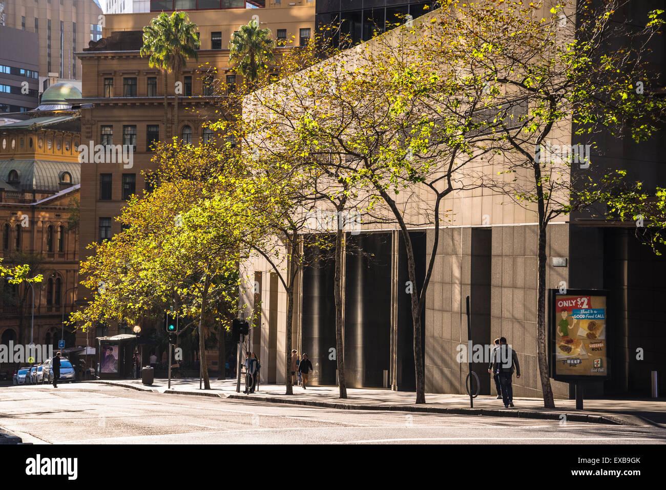 Bent Street, CBD, Sydney, Australia. Imagen De Stock