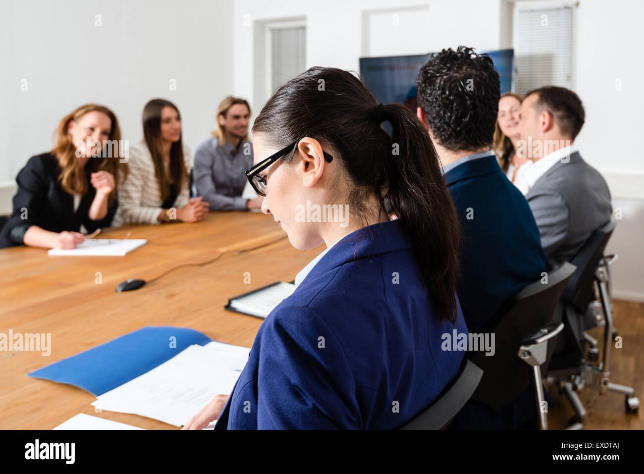 Reunión de negocios Imagen De Stock
