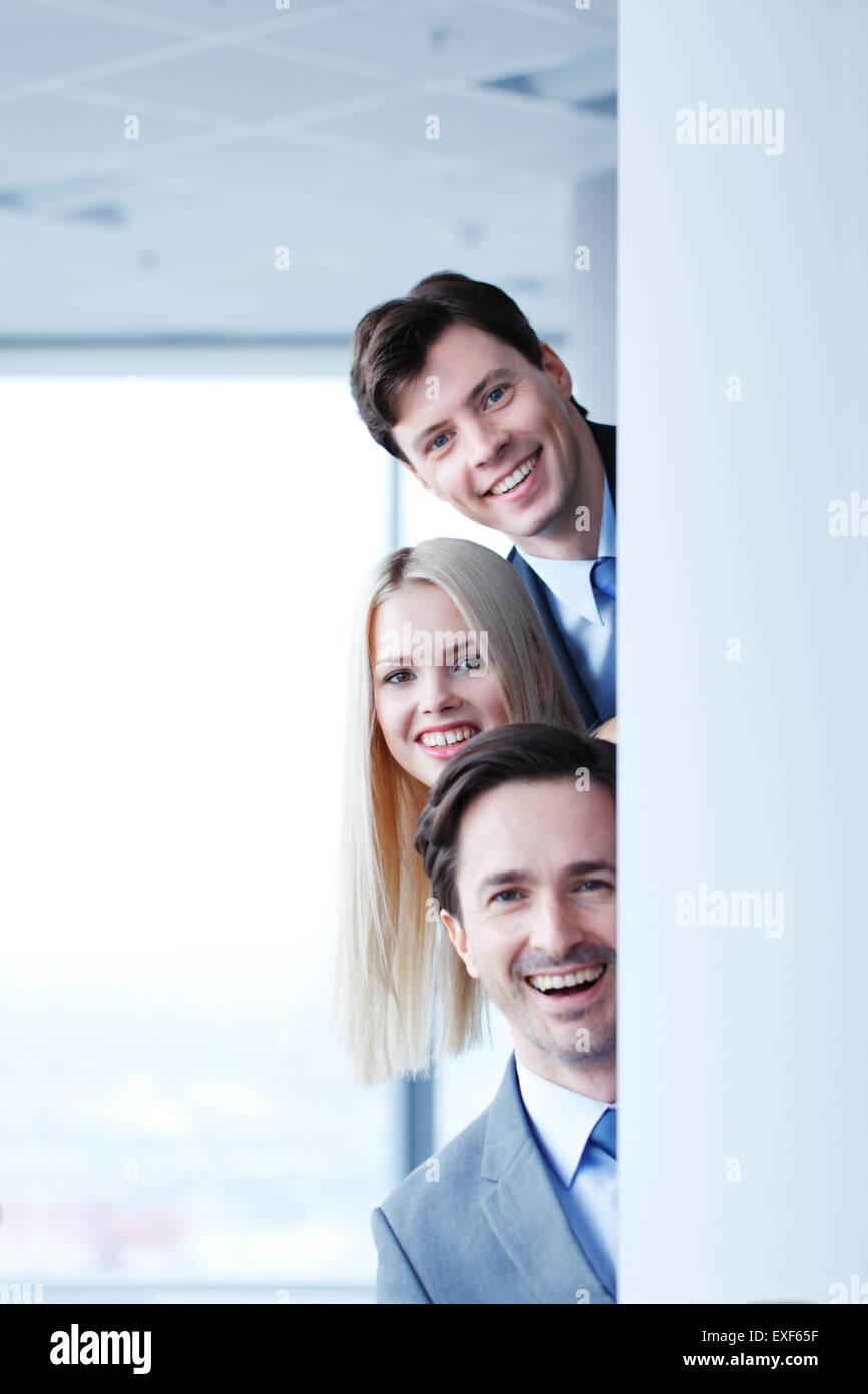 Gente de negocios feliz Imagen De Stock