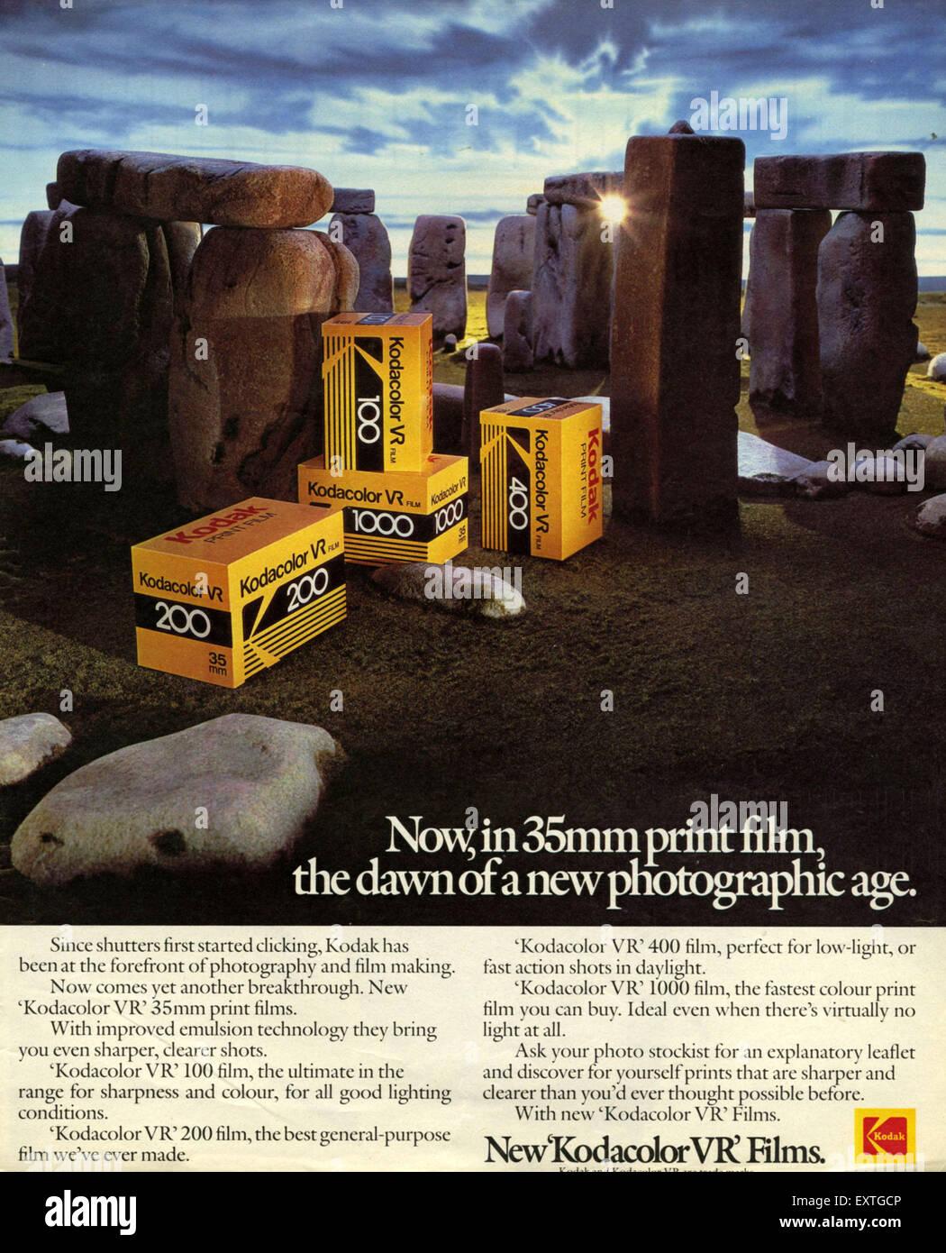 4x Kodak Professional Ektar 100 película de impresión de color 35mm 135-36 exposiciones