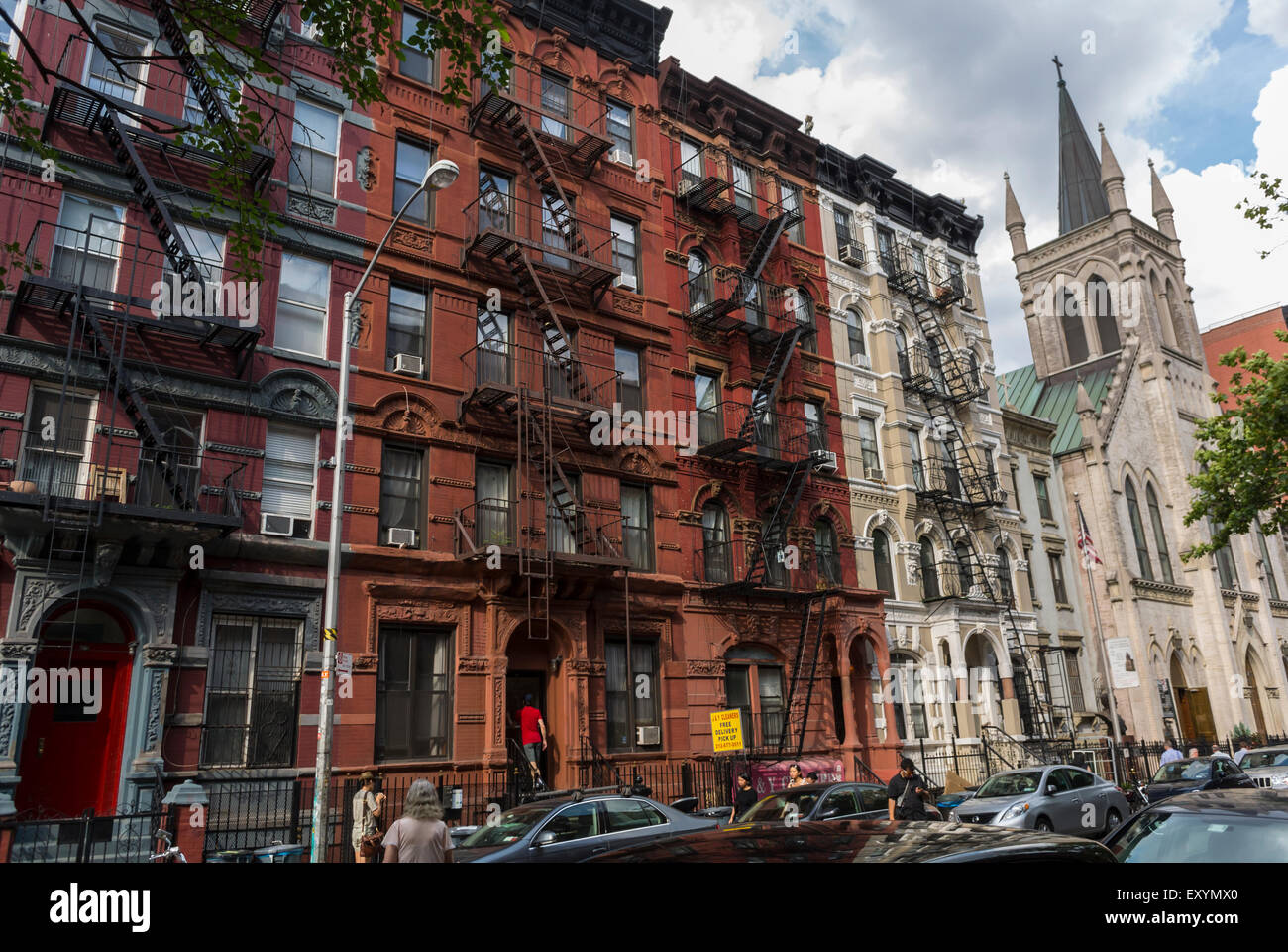 New York City Tenement Buildings Imágenes De Stock & New York City ...