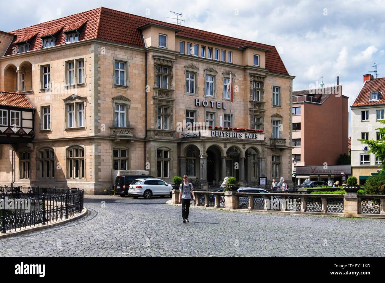 Braunschweig Brunswick Alemania Deutsches Haus Hotel