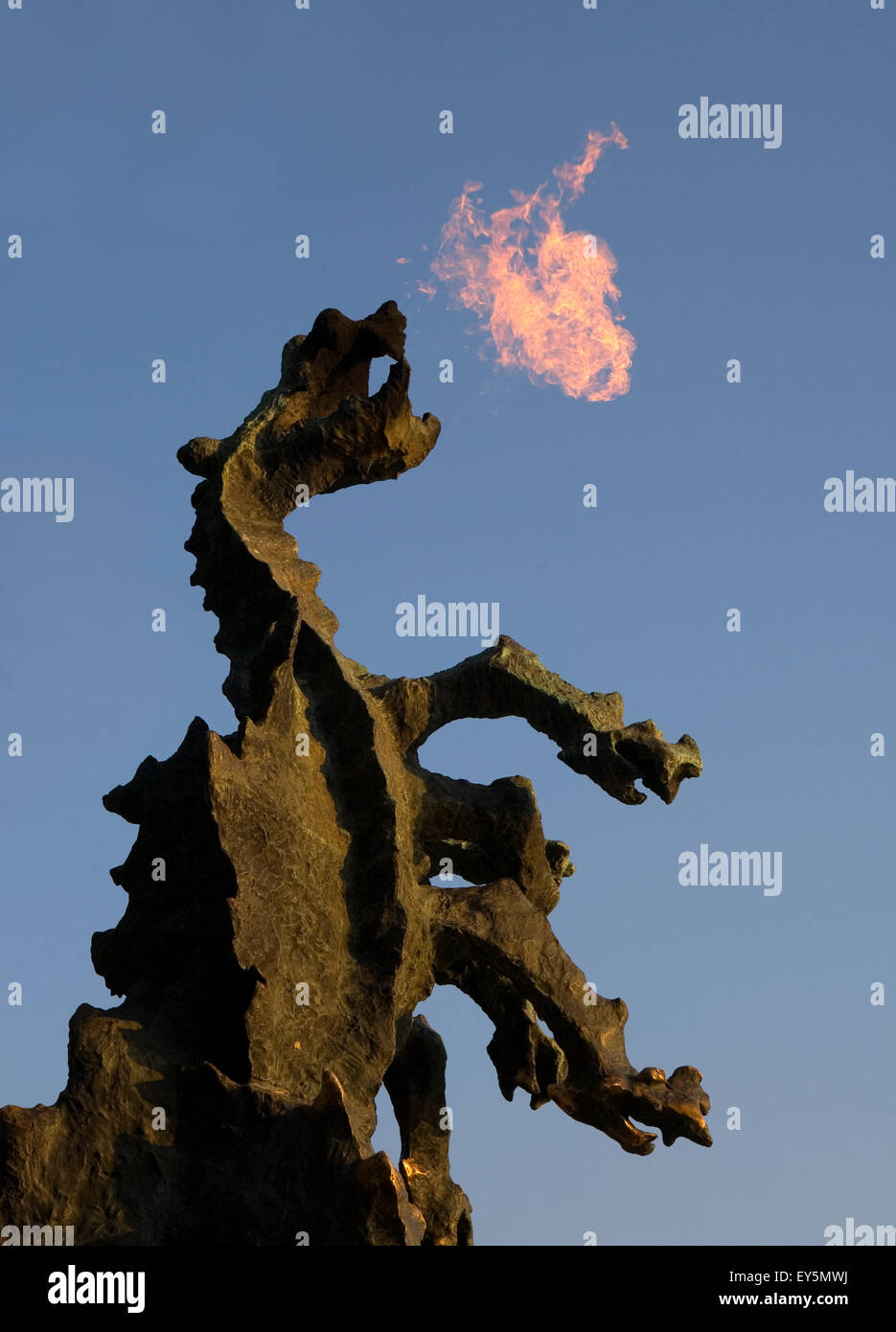 Fire Breathing Dragon Imágenes De Stock & Fire Breathing Dragon ...