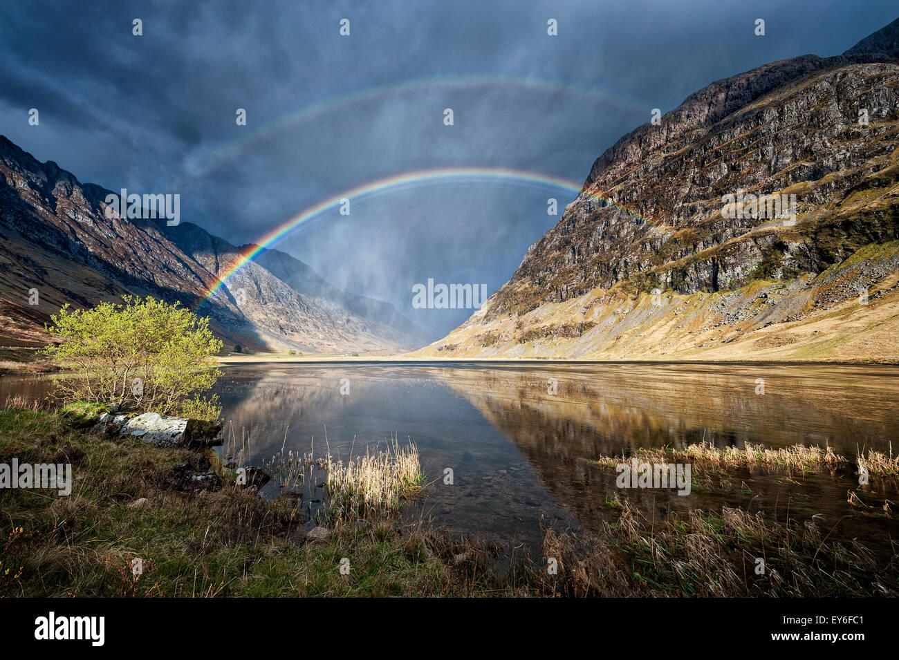 Paisaje, paisajes, Escocia, Scottish Imagen De Stock